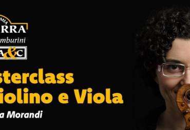 Masterclass di Violino e Viola del M° Chiara Morandi