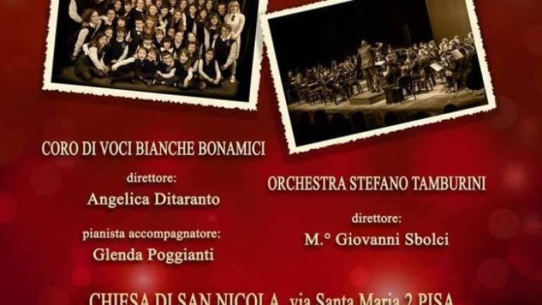 """Concerto per A.I.L. dell'Orchestra Stefano Tamburini e Coro di Voci Bianche """"Bonamici"""" di Pisa"""