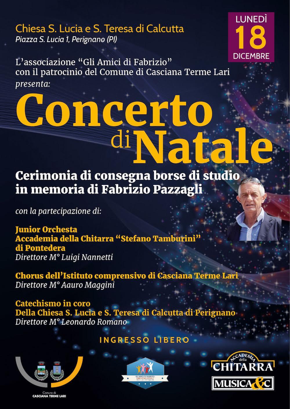 """Concerto di Natale JuniOrchestra e """"Chorus"""" di Lari"""