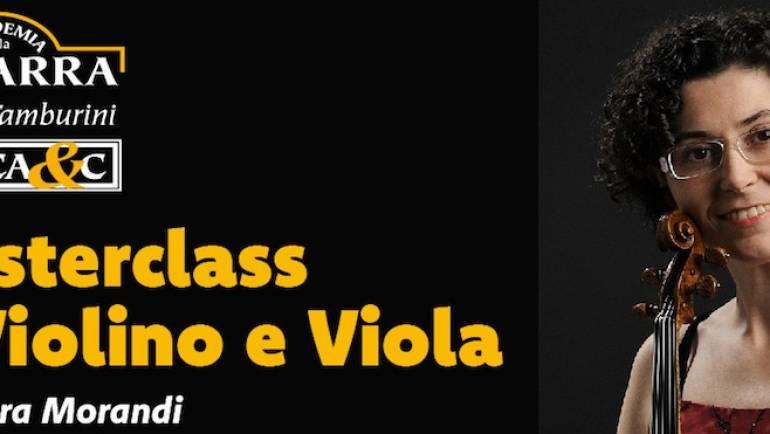 Master Violino e Viola con M° Chiara Morandi 2019-2020